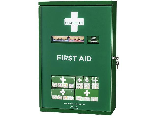 Första Hjälpen-skåp