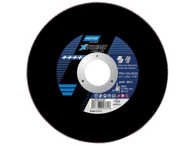 Kapskiva X-treme Life Inox 125x1.0x22