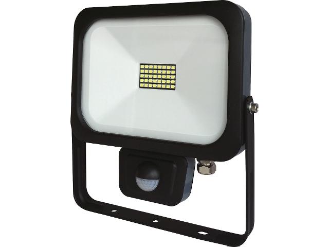 Ledstrålkastare med sensor 20W