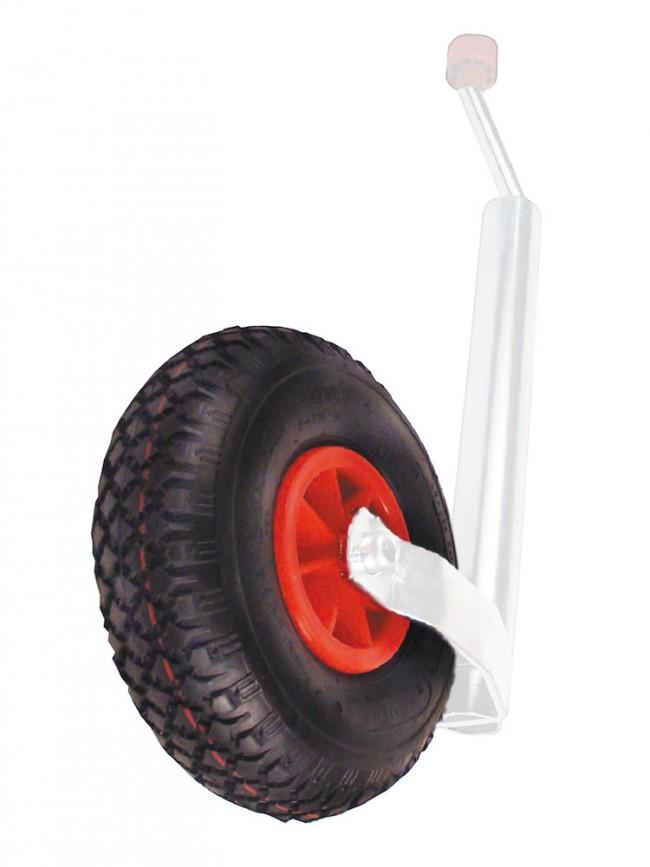 Luftgummihjul med plastfälg 260x85mm