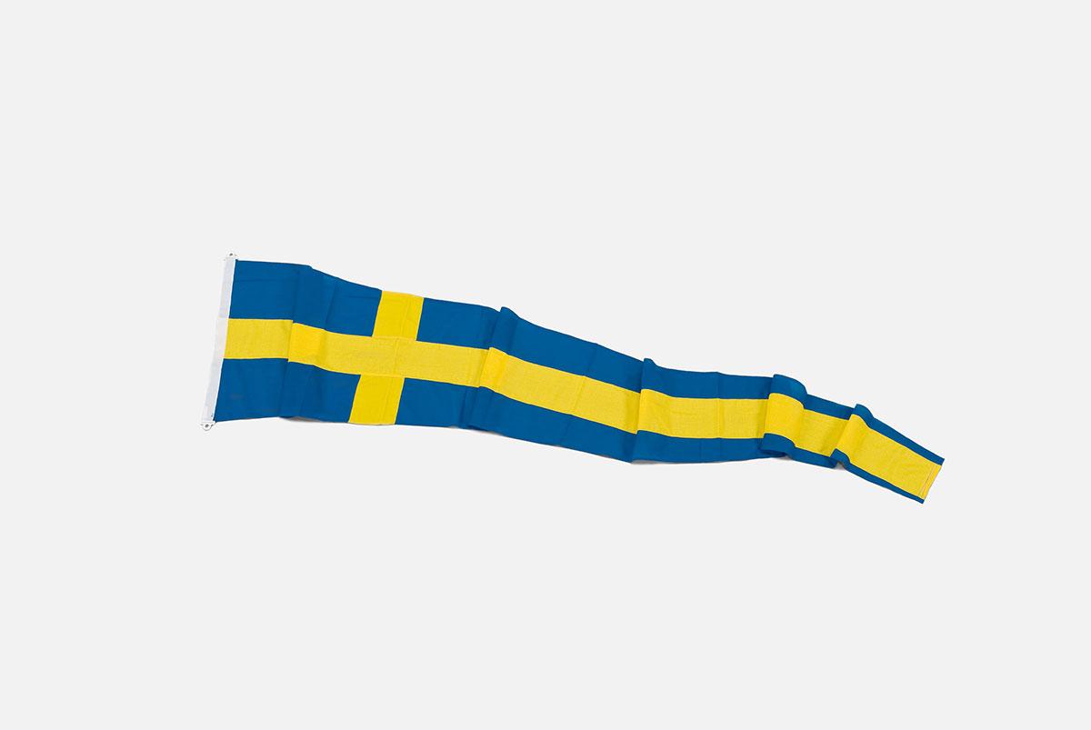 Svensk korsvimpel - 500x70cm