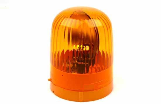 Varningsfyr 24V gul Junior F