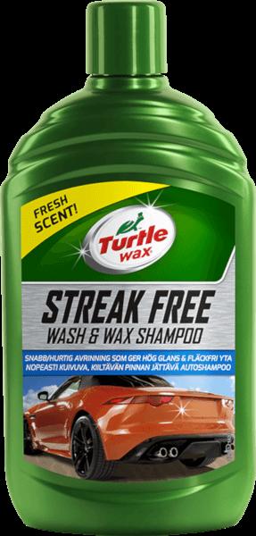 Streak Free Wash & Wax Shampoo - 500ml