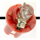 Instrumentlampa 24V B8,5d - Röd