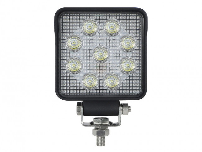 Arbetslampa LED bred med DT 13,5 W