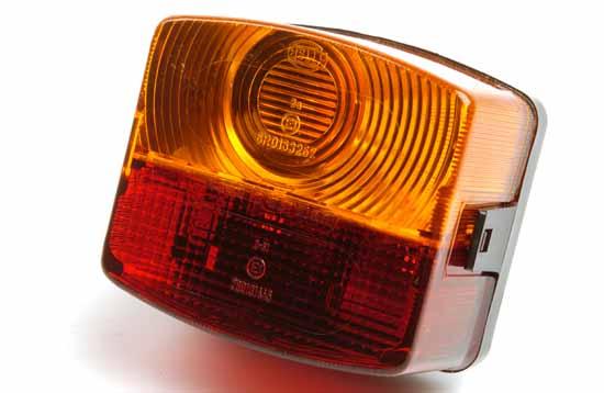 Bak-/broms-/blinklykta höger 95x85mm
