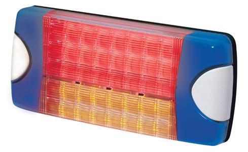 Bak-/broms-/blinklykta 8-28V LED