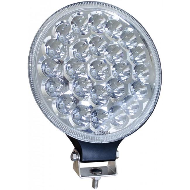 "LED Extraljus 9"" 75W Hi-Lux (combo)"