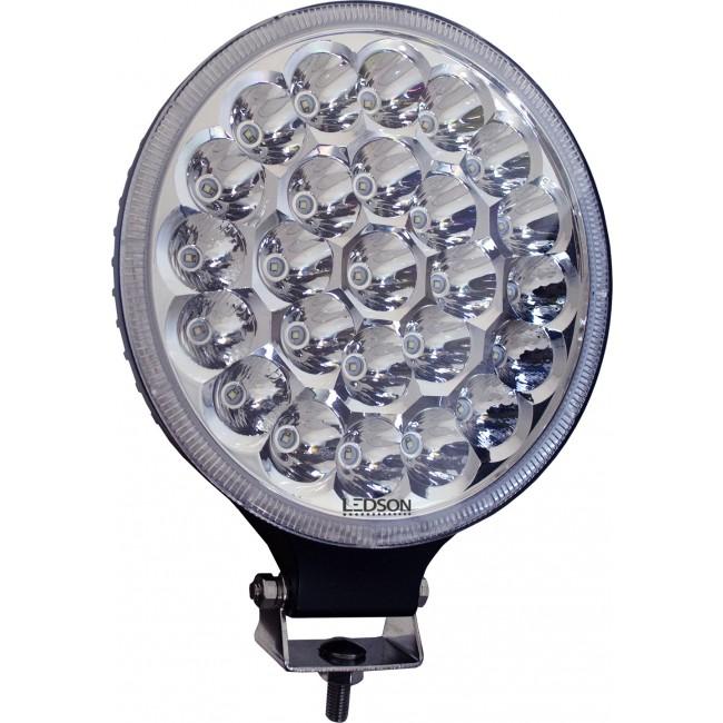 """LED Extraljus 9"""" 75W Hi-Lux (combo med parkeringsljus)"""