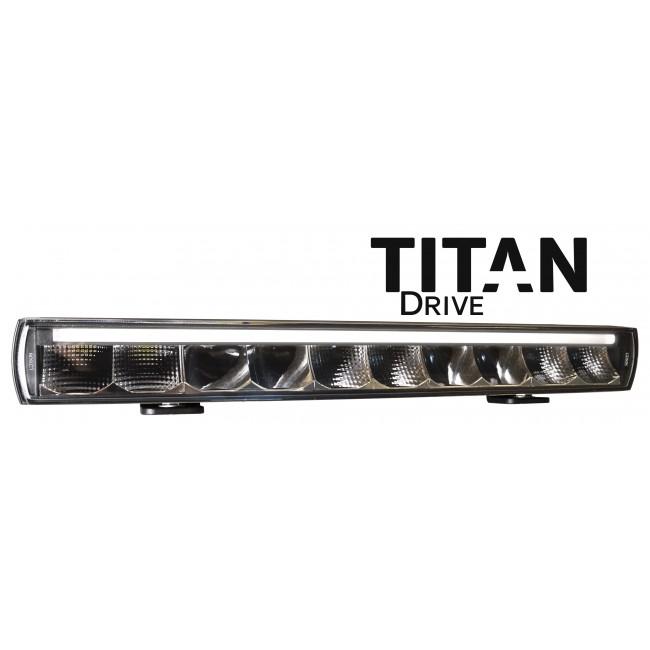 "Titan Drive LED-Ramp 20,5"" 100W (E-Märkt, Driving Beam, Positionsljus)"