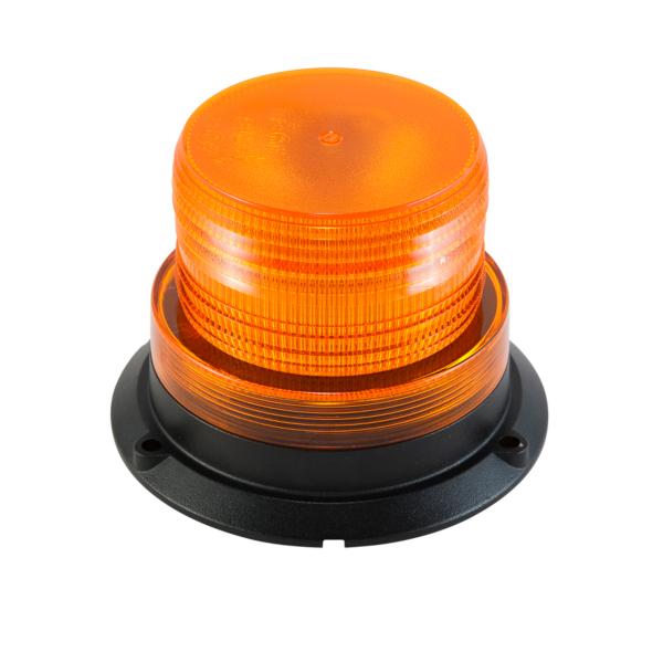 Roterande varningsljus LED med magnetfot - Ø128 mm