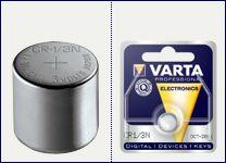 Batteri CR1/3N 3V litium