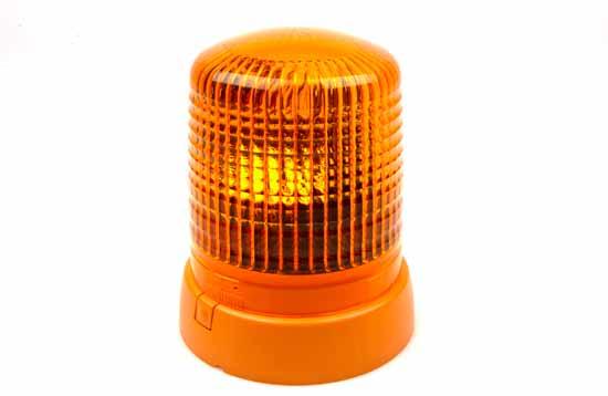 Varningsfyr 24V gul KL 7000 F