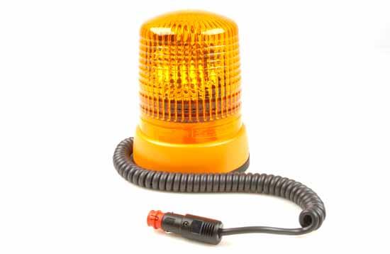 Varningsfyr 24V gul KL 7000 Magnet