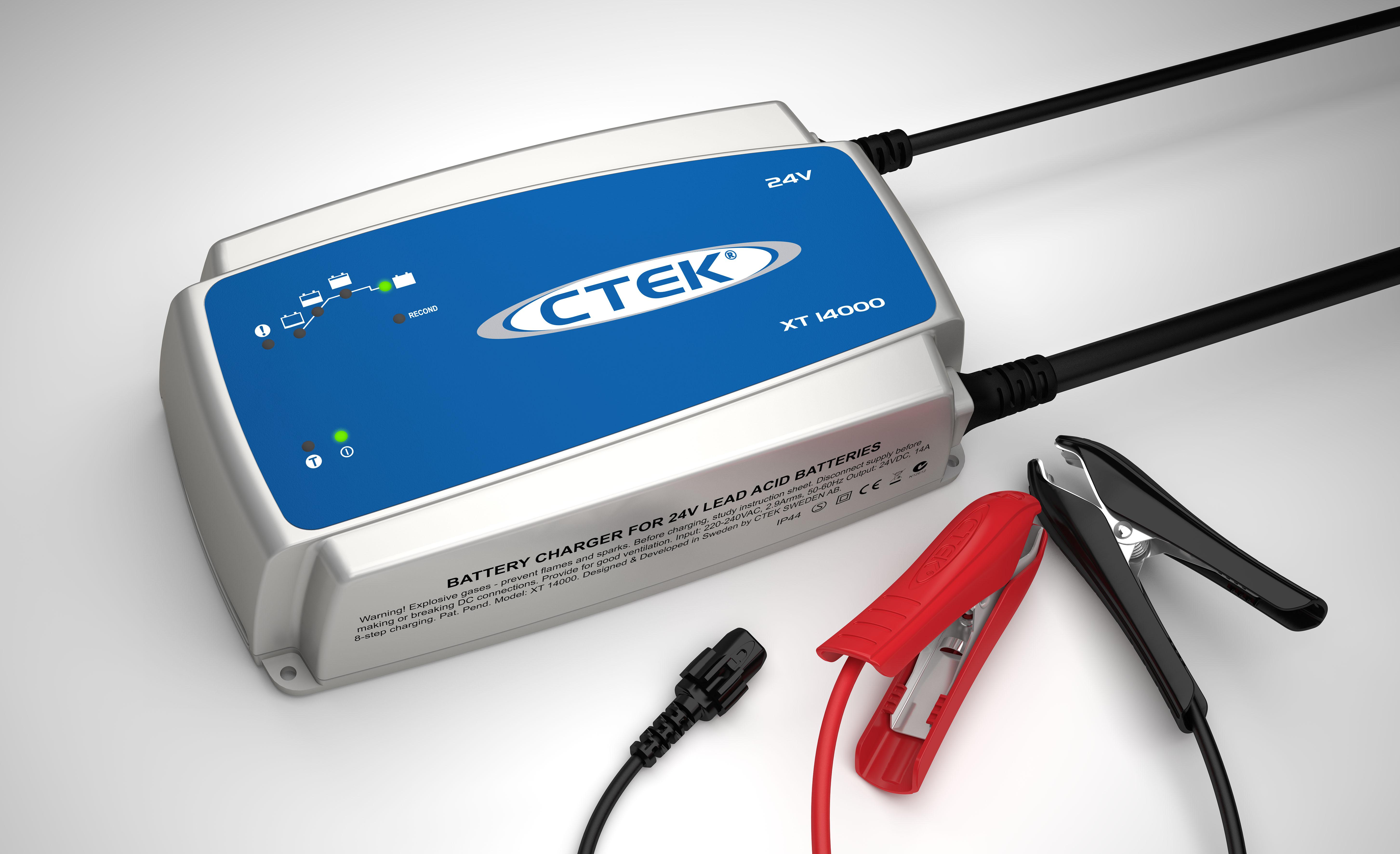 Batteriladd XT 14000 EXT - 24 volt