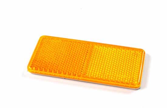 Reflex gul 94x44mm självhäftande