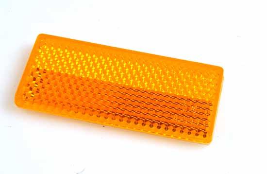 Reflex gul 70x32mm självhäftande