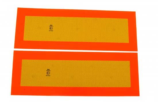 Reflexskylt-sats för släpfordon ECE-70-R