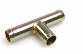 T-rör Ø 15x15x15 mm metall
