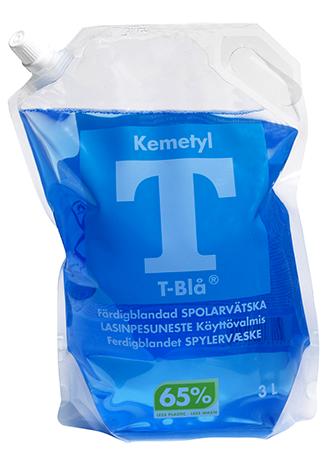 Spolarvätska T-Blå 3 Liter