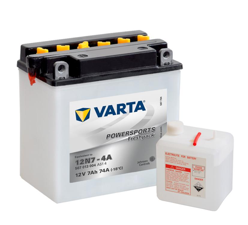 Batteri 12N7-4A - 7Ah