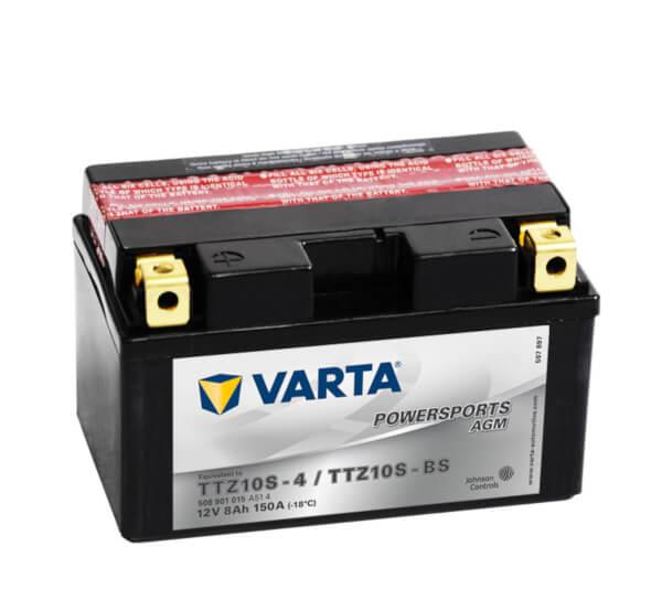 Batteri MC YTZ10S-BS - 8Ah