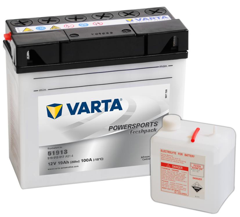 Batteri 51913 - 19Ah