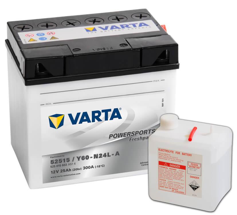 Batteri Y60-N24-A - 25Ah