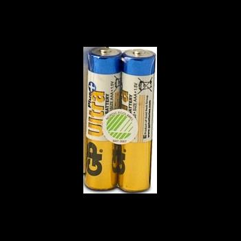 AAA-batteri, GP Ultra Plus Alkaline 24AUP/LR03, 2-pack