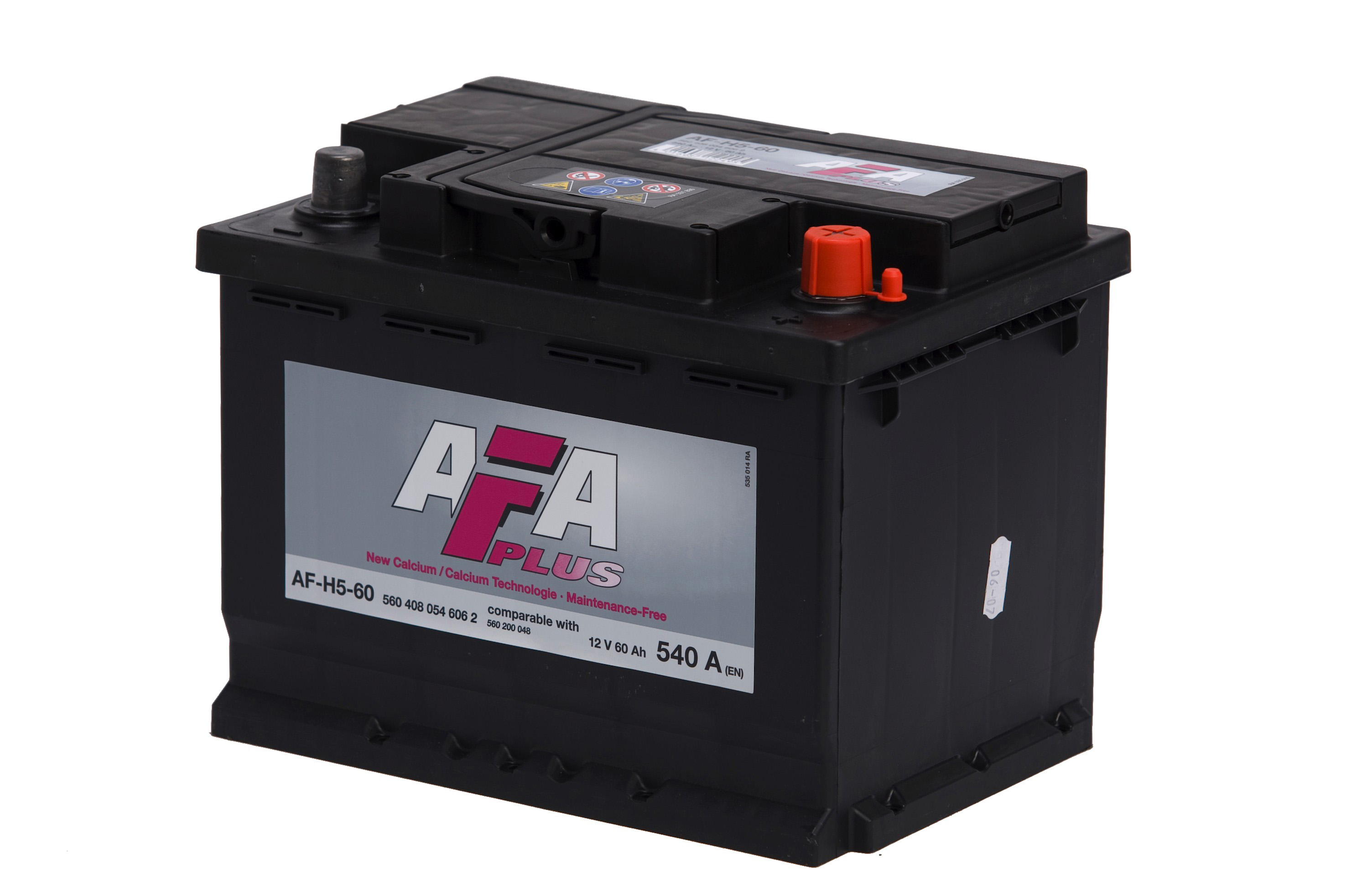 Bilbatteri Plus AFH5 - 60Ah