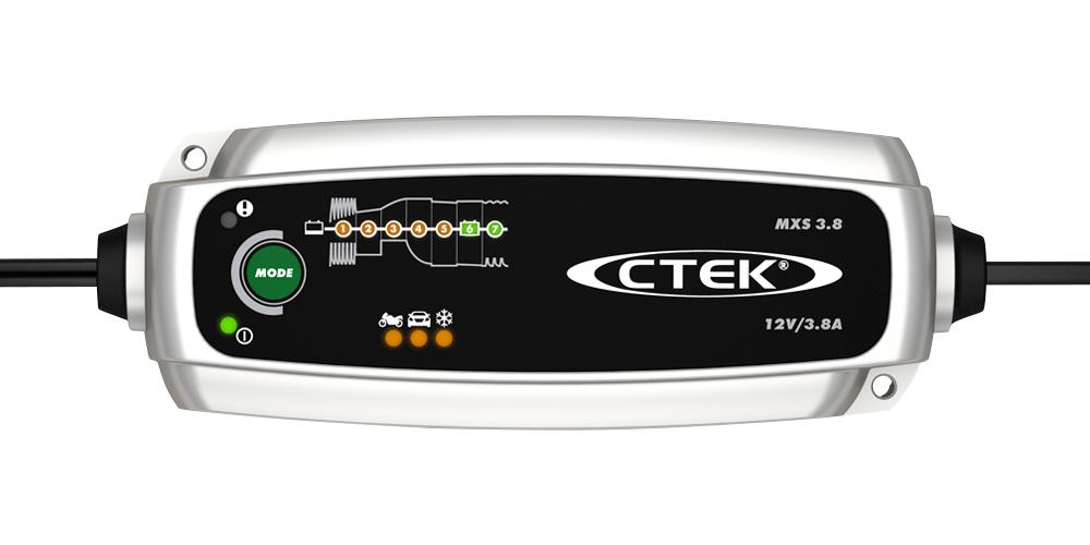 Batteriladdare MXS 3.8 - 12 volt