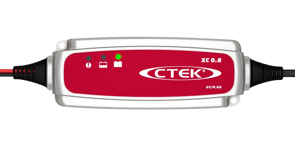 Batteriladdare XC 0.8 - 6 volt