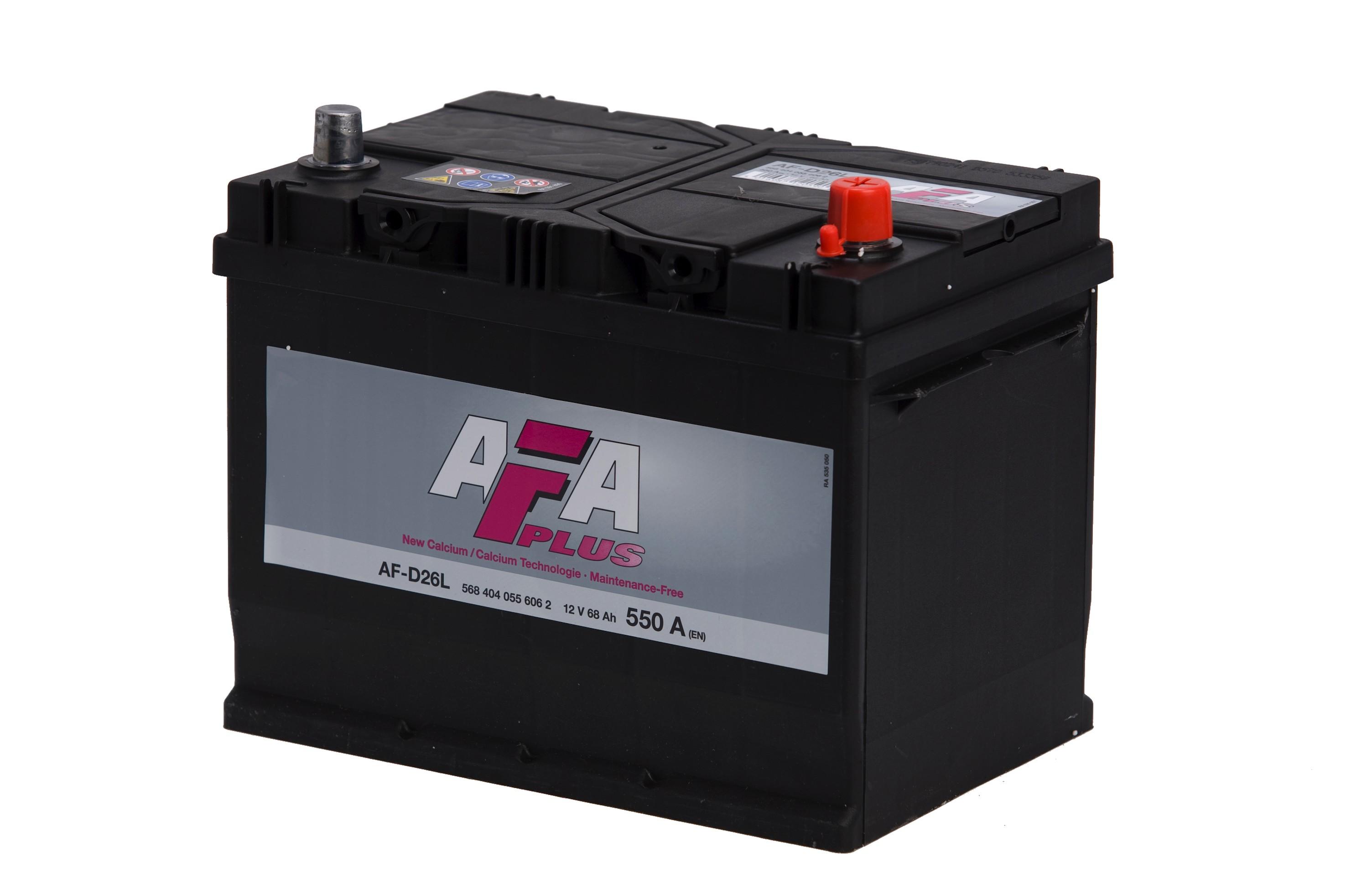 Batteri AFD26L  Plus - 68Ah