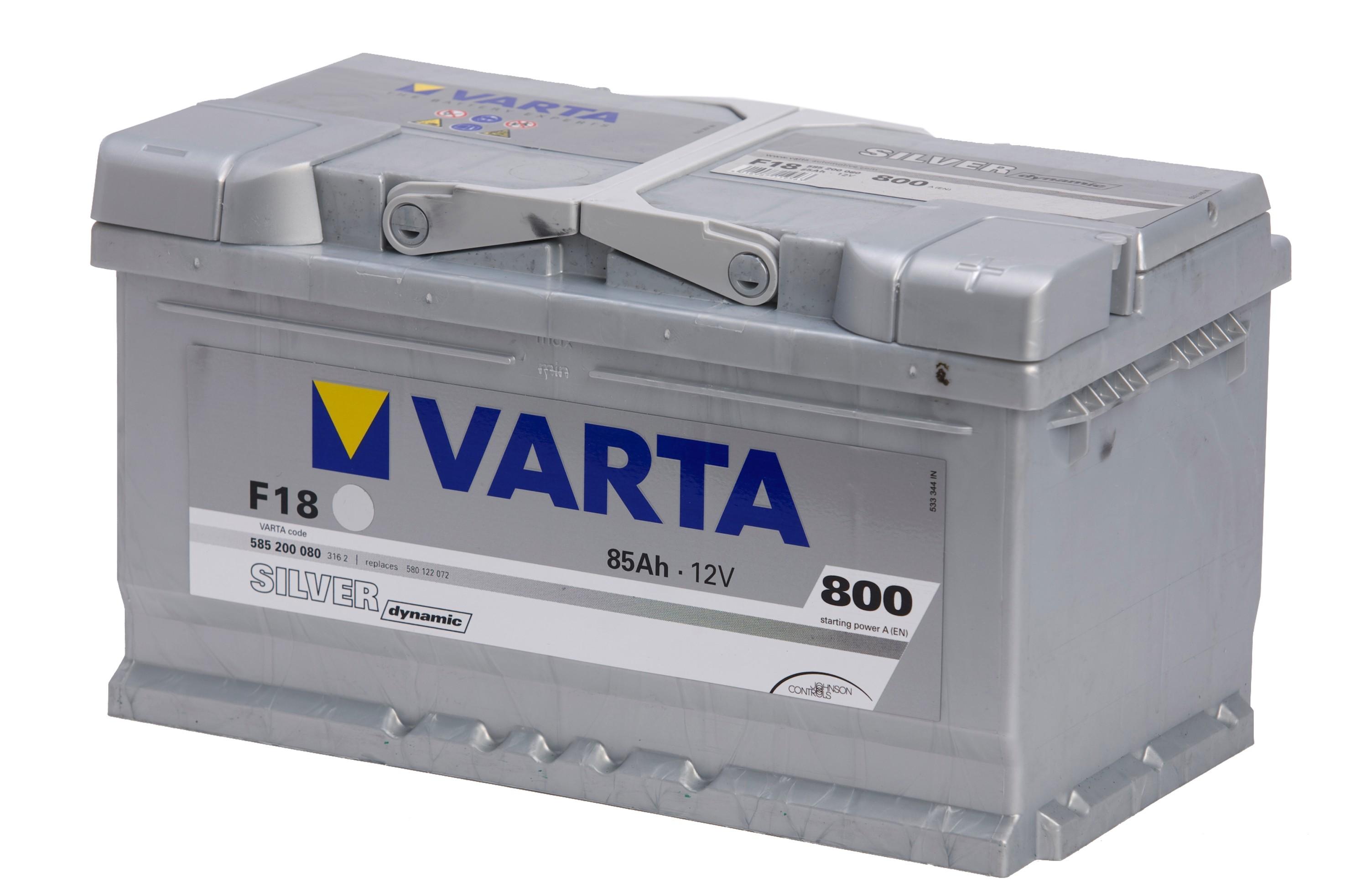 Bilbatteri Silver Dynamic F18 - 85Ah