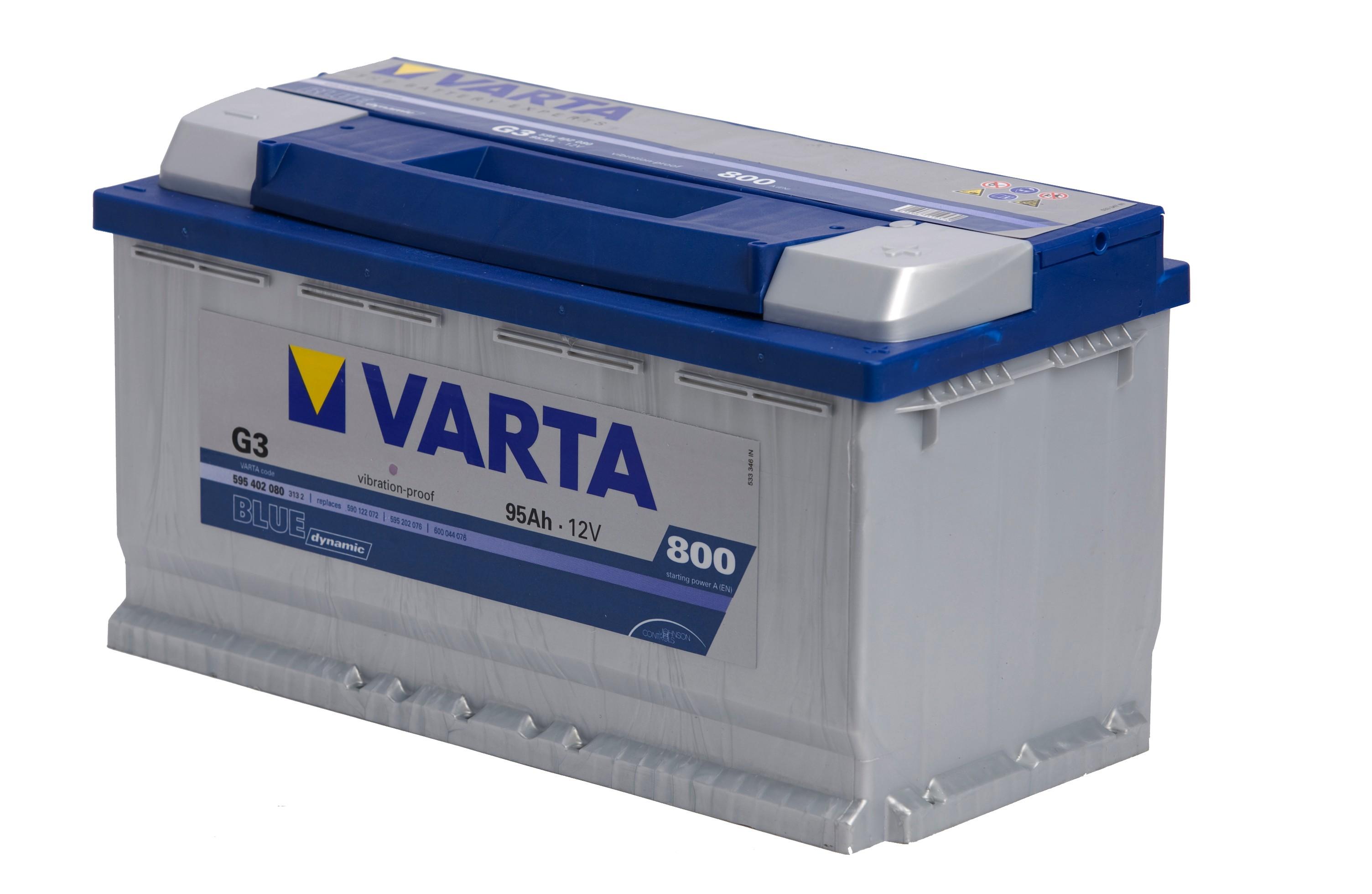 Bilbatteri Blue Dynamic G3 - 95Ah