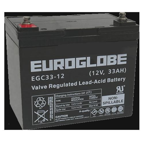 Batteri EGC33-12 AGM