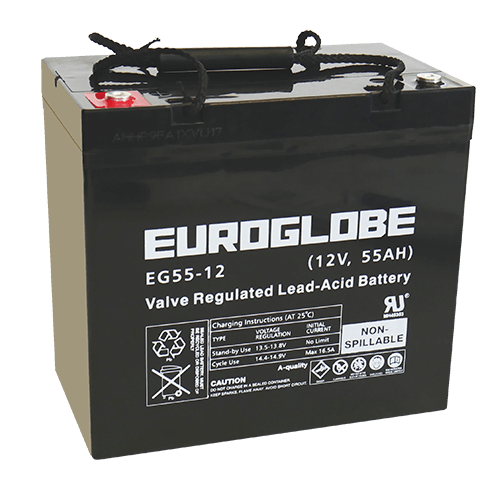 Batteri EGC55-12 AGM