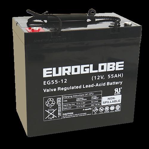 Batteri EG55-12 AGM