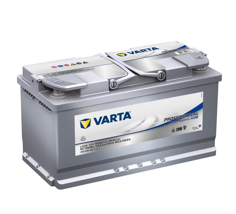 Batteri LA95 Prof DP AGM - 95Ah
