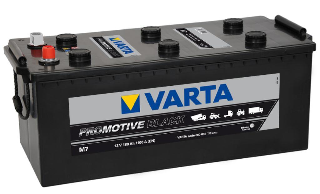 Batteri black HD 180Ah M7