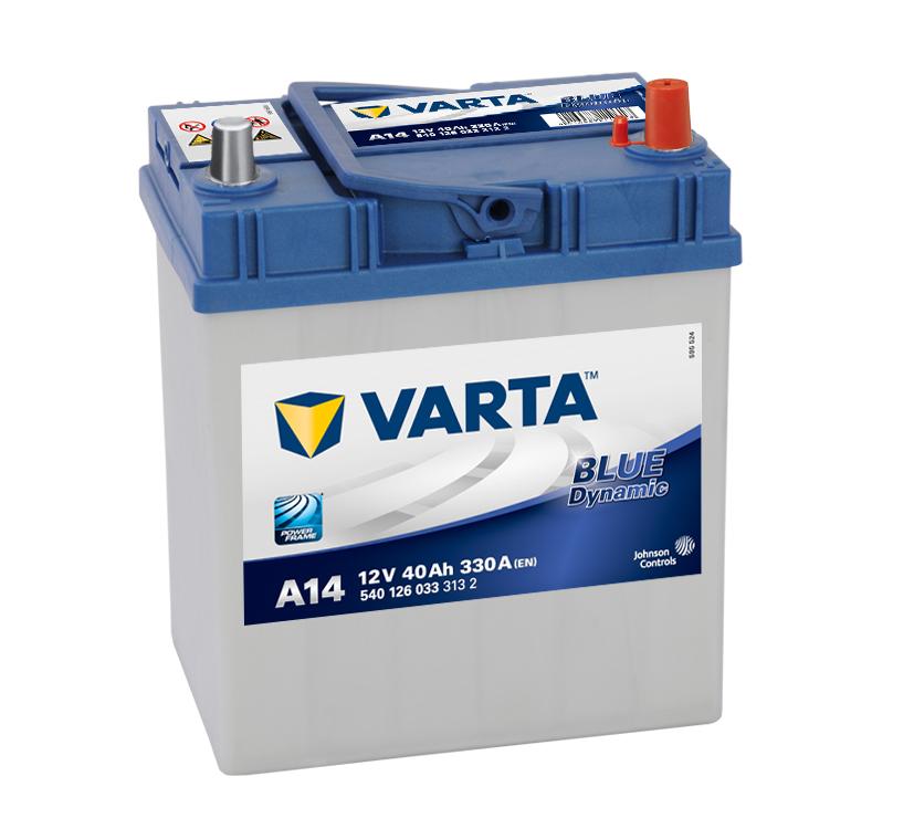 Batteri Blue Dynamic A14 - 40Ah