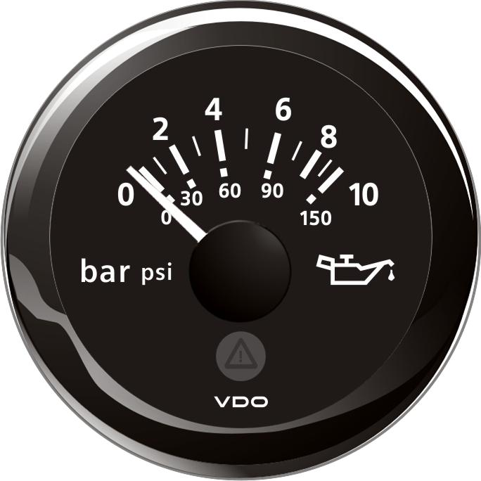Tryckinstrument 10 bar 12/24V