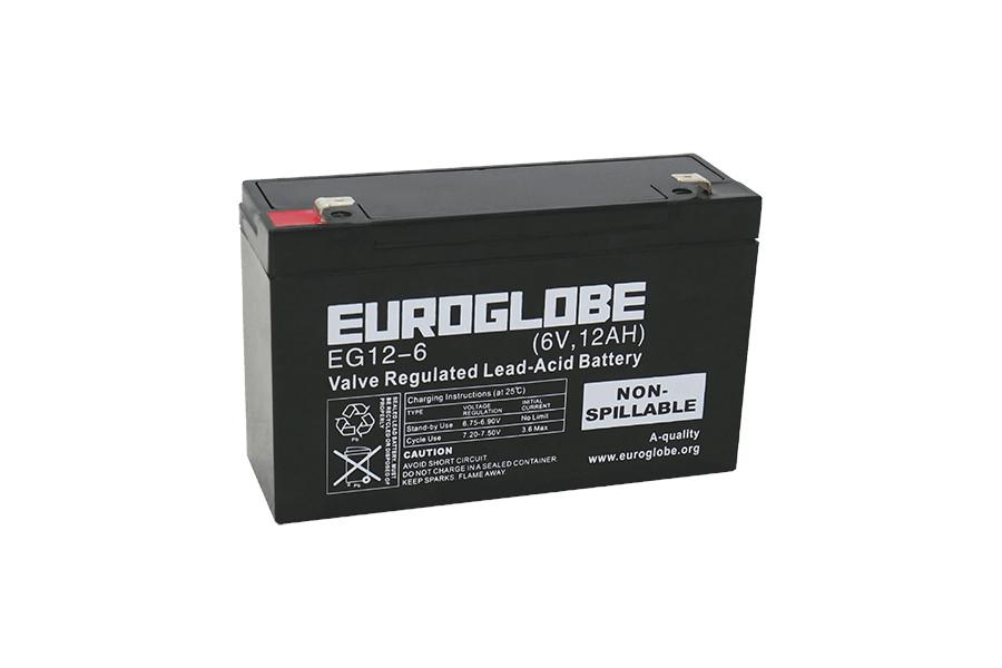 Batteri EG12-6 AGM