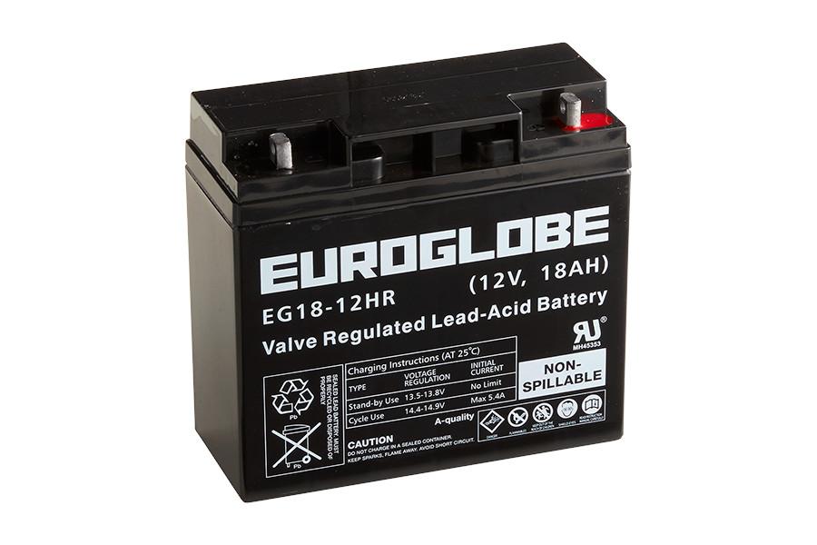 Batteri EG18-12HR AGM