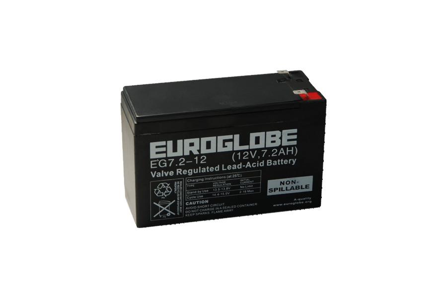 Batteri EG7,2-12 F2 AGM