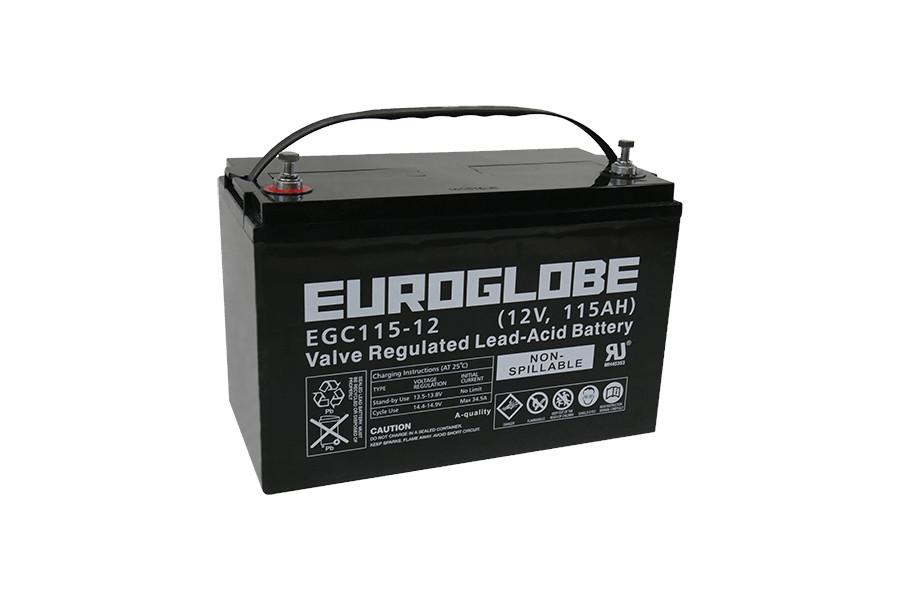 Batteri EGC115-12 AGM Deep Cycle