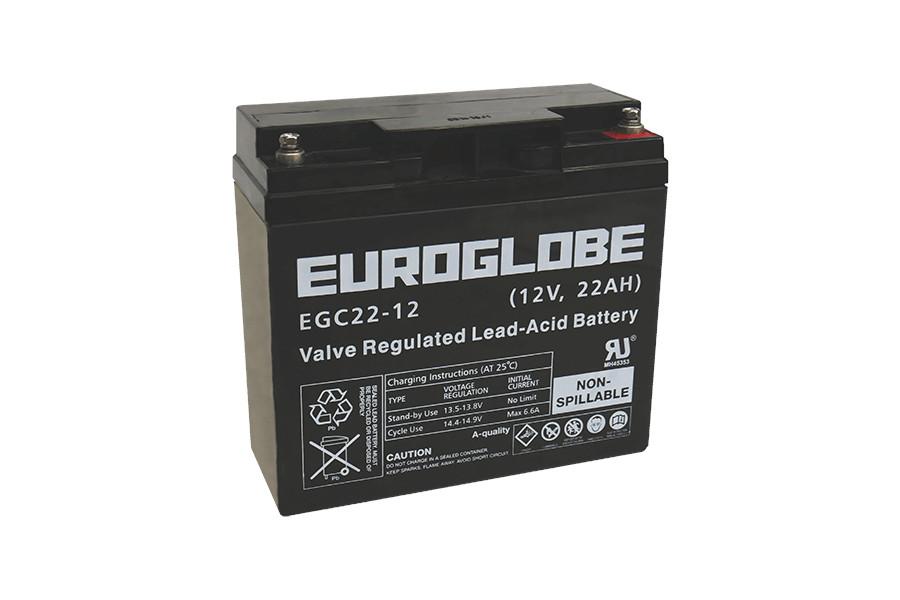 Batteri EGC22-12 AGM