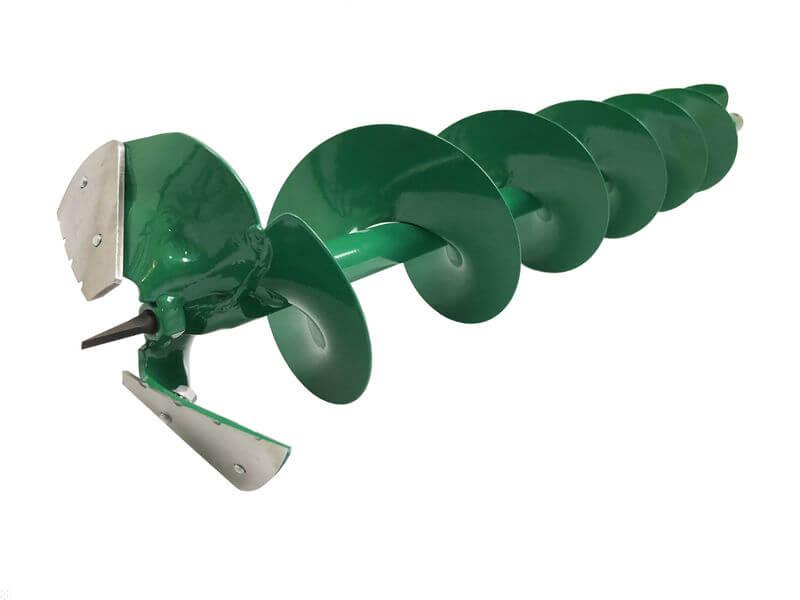 Borrspiral 150mm med adapter
