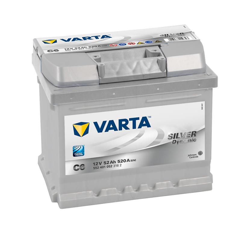 Bilbatteri Silver Dynamic C6 - 52Ah