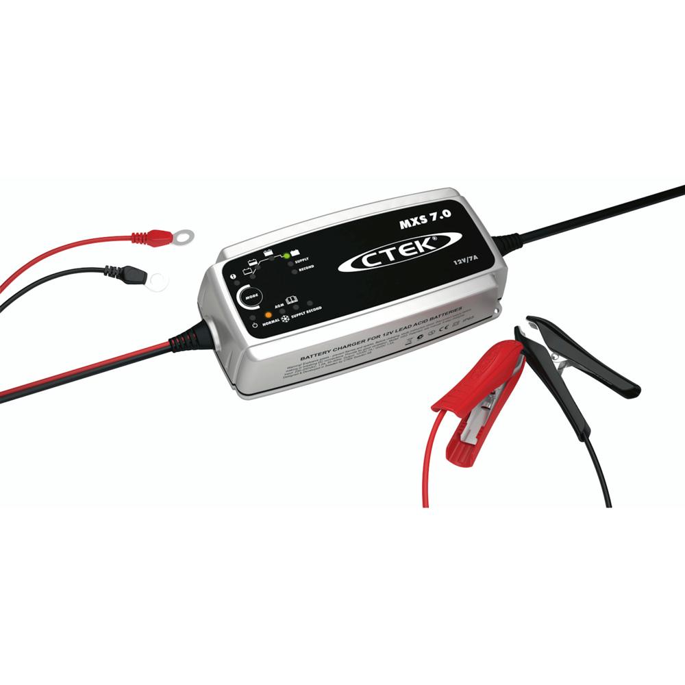 Batteriladdare MXS 7.0 - 12 volt